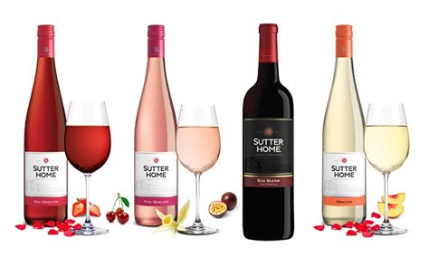 12 bottles of sutter home wine m d liquors groupon