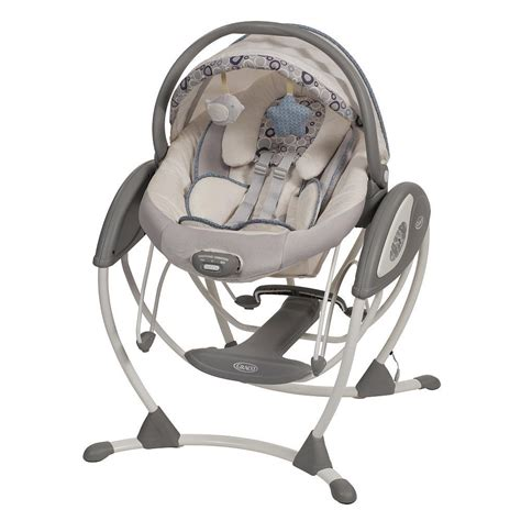 glider baby swing graco glider elite gliding swing