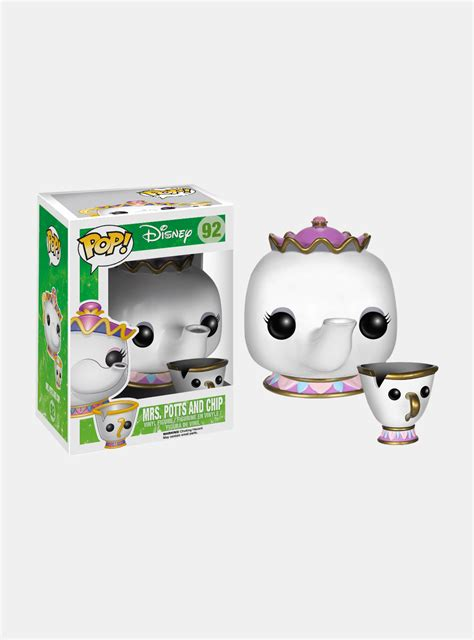 Original Funko Pop Au Naturale funko pop mrs potts chip a bela e a fera original r
