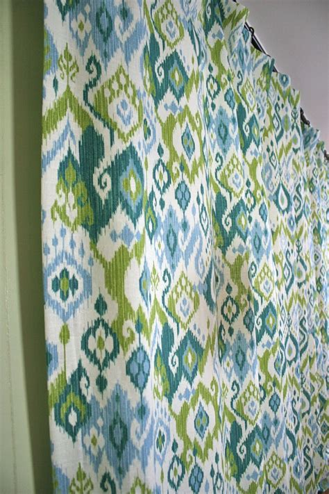 ikat draperies ikat curtains image of blue and white ikat curtains