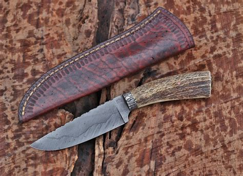 Handmade Mountain Knives - custom c knife elk