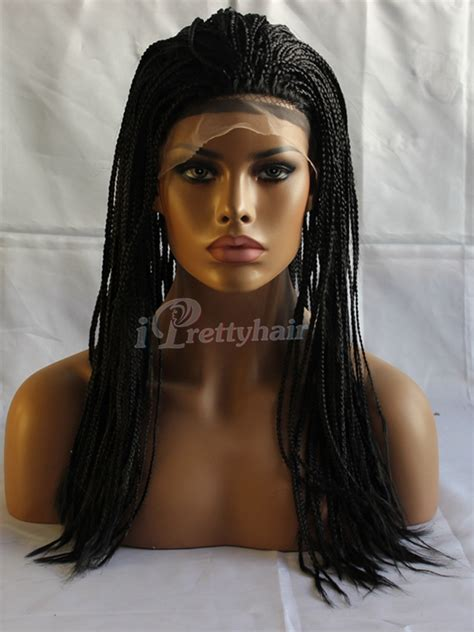1b synthetic lace front wig cheap kinky braiding wig buy stock 20in 1b black afro kinky twist cheap synthetic