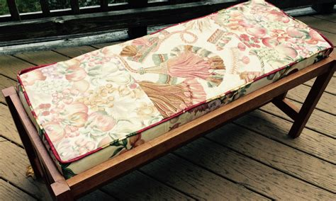 how to cover a bench with fabric how to cover a bench with fabric 28 images how to make