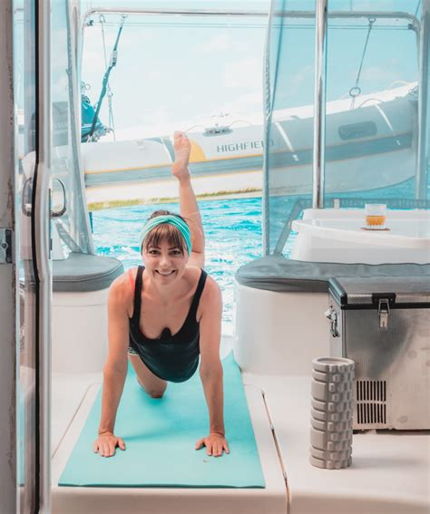 sailboat exercise pump you up exercise staying fit on a sailboat