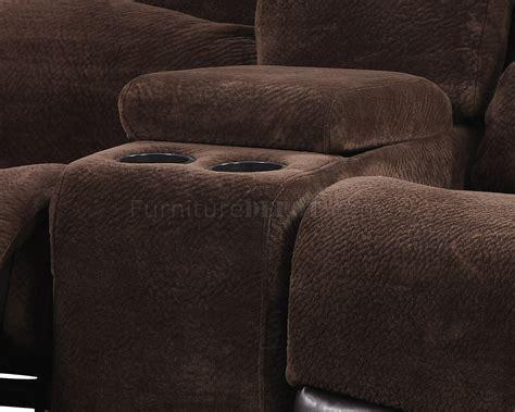 chocolate brown sectional sofas 1301 motion sectional sofa in chocolate brown by global