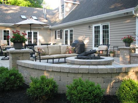 Backyard Patio Ideas With Fire Pit Landscaping Backyard Patio Ideas With Pit
