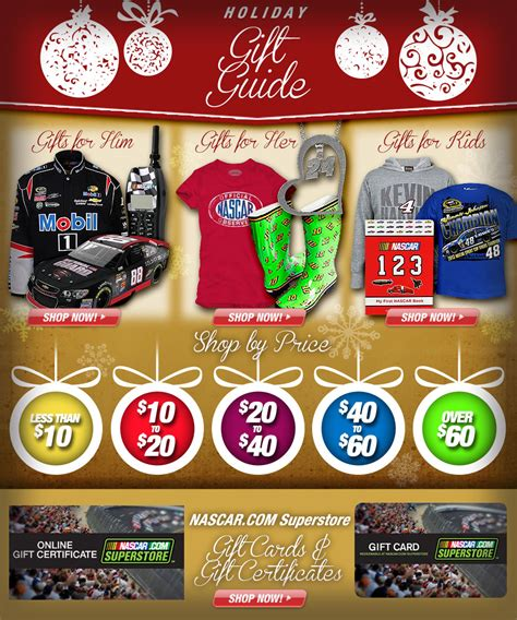 nascar gifts buy nascar gifts for men women kids at