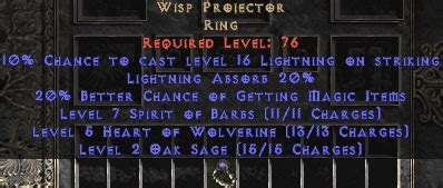 unique rings asia 1 ladder diablo 2 lewt