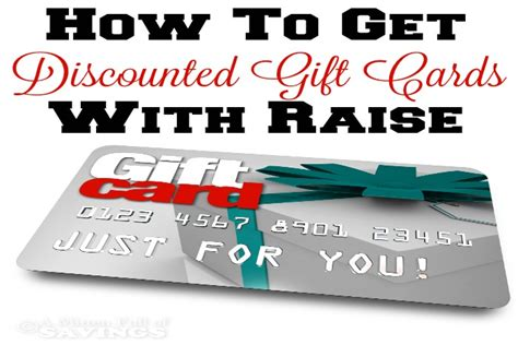 How To Get Discounted Gift Cards - how to get discounted gift cards with raise a worthey read