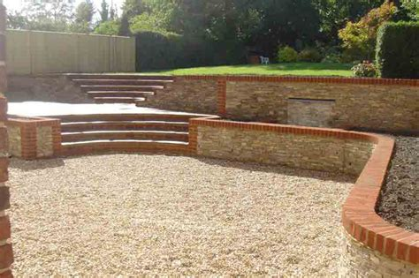 surrey rear steps walls finish 4 pc landscapes