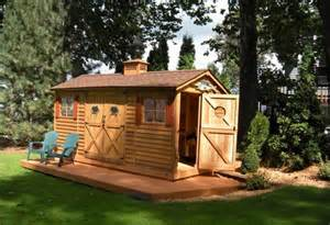 Small Backyard Cottage by Door Sheds Small Backyard Cottage Garden Cottages