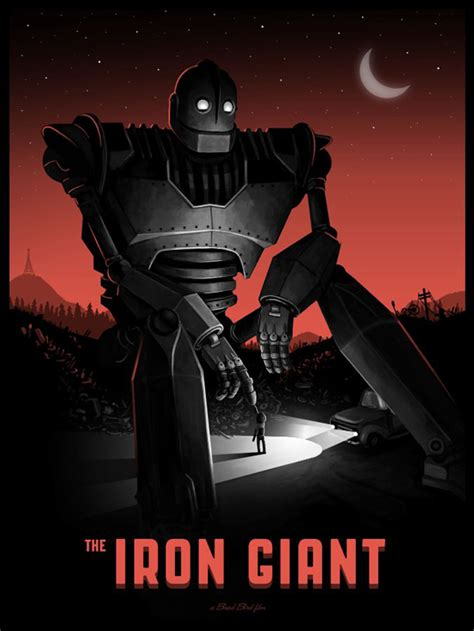 the iron giant iron giant mondo poster art geektyrant