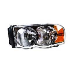 Aftermarket Headlights For Dodge Ram 1500 Tyc 174 Dodge Ram 1500 2500 3500 2003 2004 Replacement