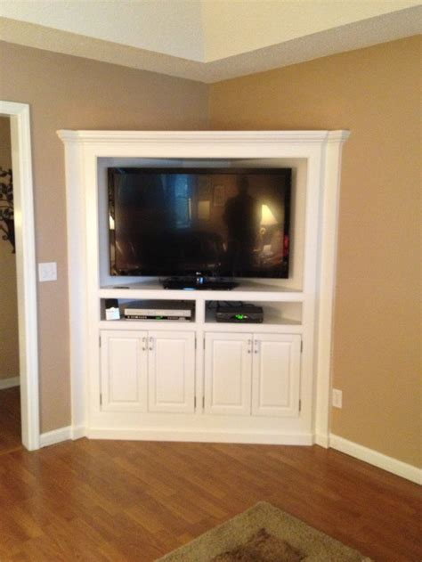 25  best ideas about Corner Tv Cabinets on Pinterest