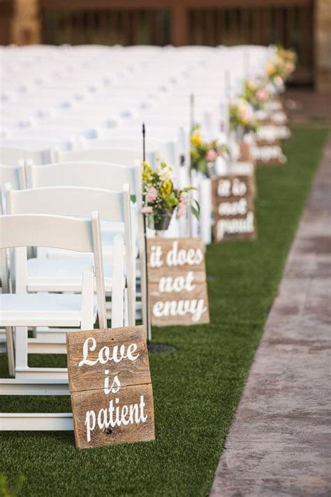 easy diy wedding ceremony decorations 25 rustic outdoor wedding ceremony decorations ideas