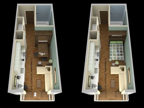 5 Bedroom Floor Plans 1 Story San Francisco S Smartspace Soma Is The First Prefab Micro