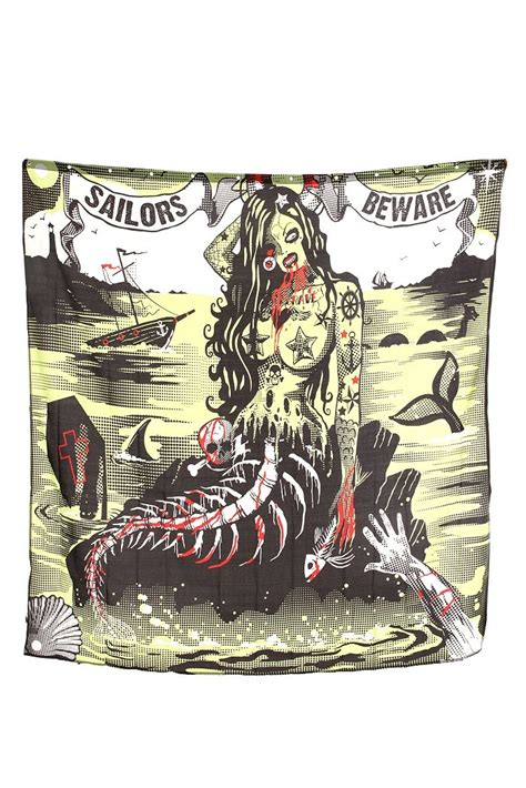 zombie mermaid shower curtain 102 best images about bathroom ideas on pinterest