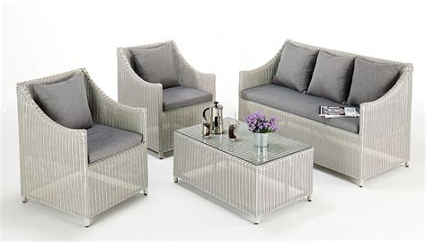 Rattan Couches by Rattan Sofa Set All Weather Rattan