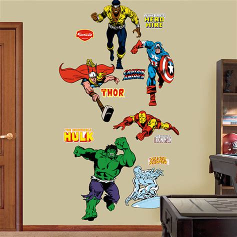 superheroes wall stickers wall decals www imgkid the image kid has it