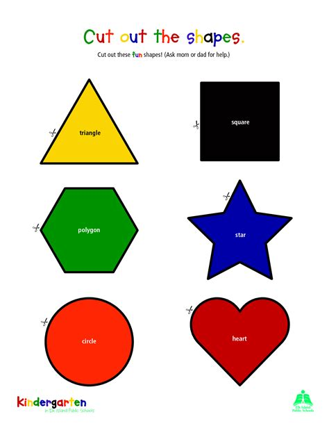 shape cut out template 7 best images of large printable shapes to cut out