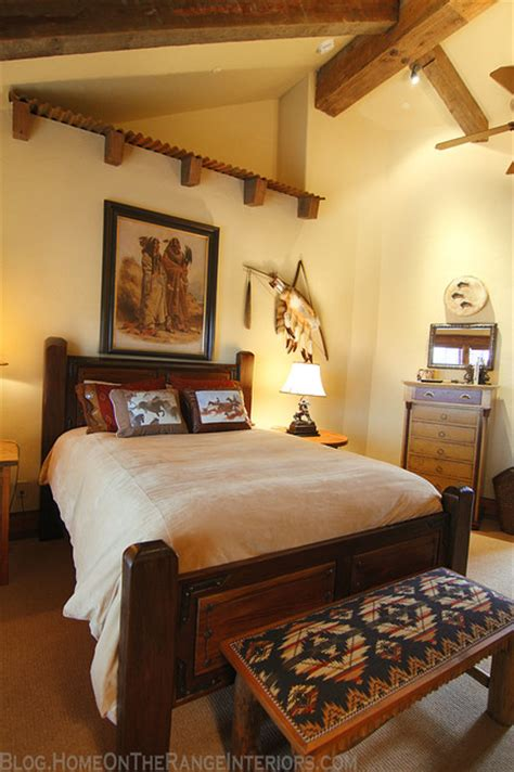western bedrooms western mine style bedroom rustic bedroom denver