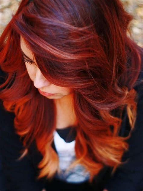 les couleurs de cheveux cheveux roux tendances et colorations les 25 meilleures id 233 es de la cat 233 gorie cheveux roux auburn sur chute des cheveux