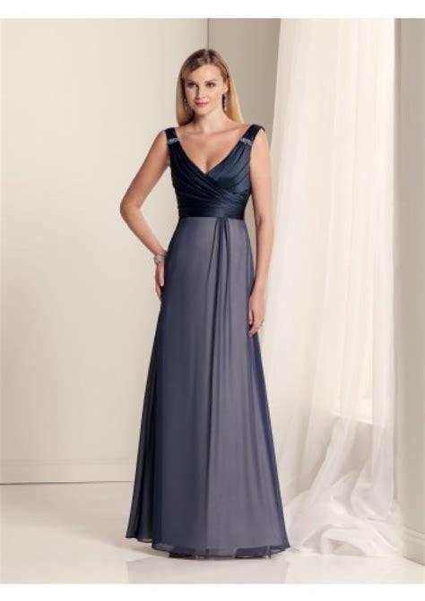 Floor Length Black Dress by Sheath Column V Neck Floor Length Black Chiffon Bridesmaid