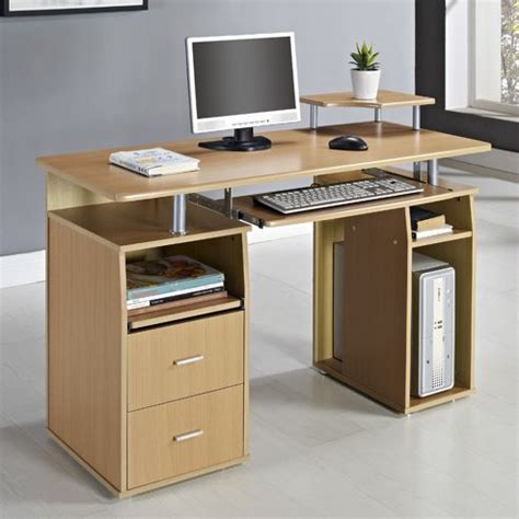 Buy Aspect Design Computer Desk Beach From Our Office Tesco Computer Desks