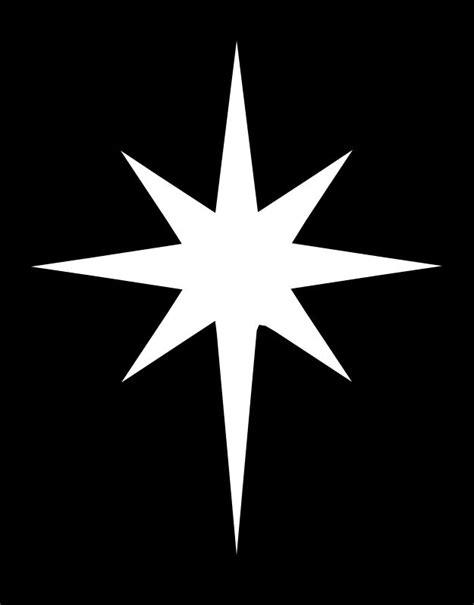 printable bethlehem star pattern use the pattern for chrismon starnativity large png 625 215 799 the nativity