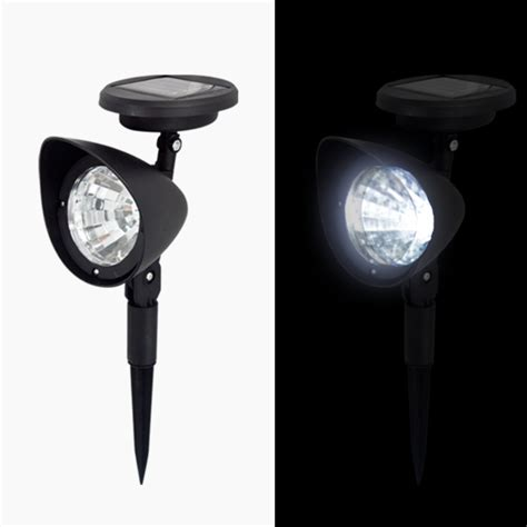 2 Solar Spot Light Outdoor Garden Landscape Led Spotlight Bright Solar Spot Lights