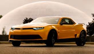 transformers 4 new cars 2014 camaro concept is new bumblebee transformers 4
