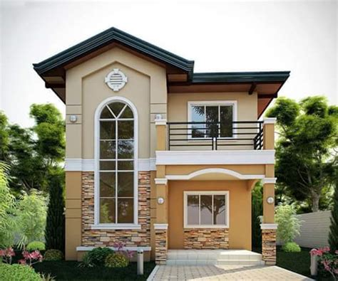 2 Story House Photos In The Philippines Bahay Ofw Free 2 Storey House Plans Philippines