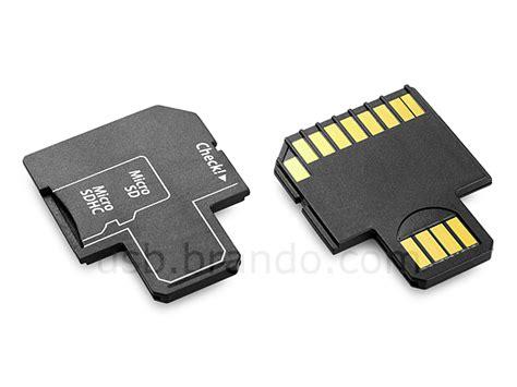 Adapter Adaptor Micro Sd To Mmc Kode Df7371 Micro Sd Hc Trio 3 In 1 Card Reader Ii