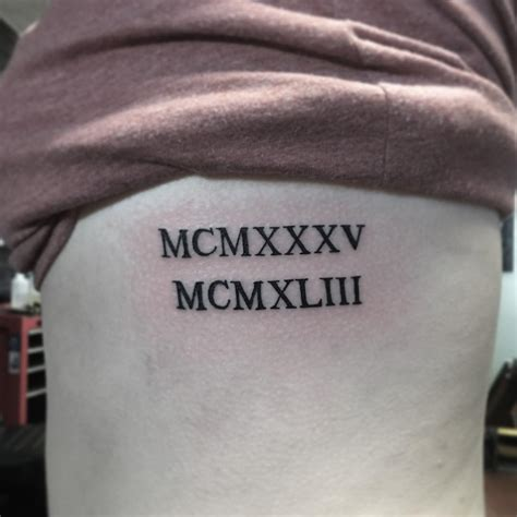 roman numeral tattoos meaning 70 best numeral designs meanings be
