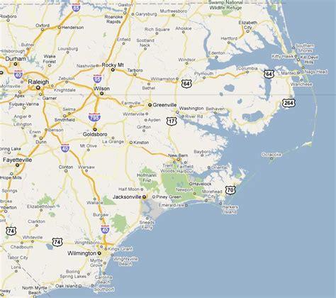 map of carolina coast map of carolina coast images