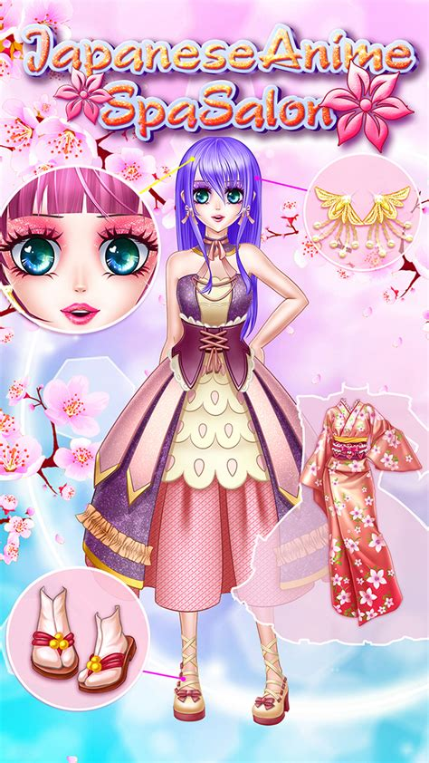 hairdresser games japanese japanese anime spa salon amazon ca appstore for android
