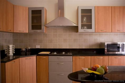 Modern Wood Kitchen Cabinets Pictures Of Kitchens Modern Medium Wood Kitchen Cabinets Page 3