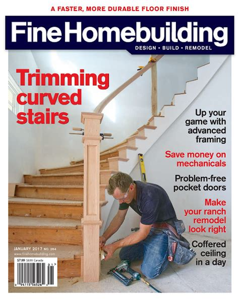 2017 fine homebuilding archive includes 1 year of online access fine homebuilding december 2016 january 2017 187 pdf