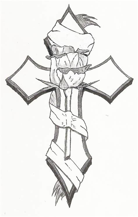 sick cross tattoos sick tattoos cross tattoos cross drawing