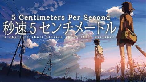 5 centimeters per second 5 centimeters per second fanart fanart tv