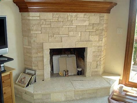 Limestone Fireplace by 1000 Images About Fireplace On Trees Mantels