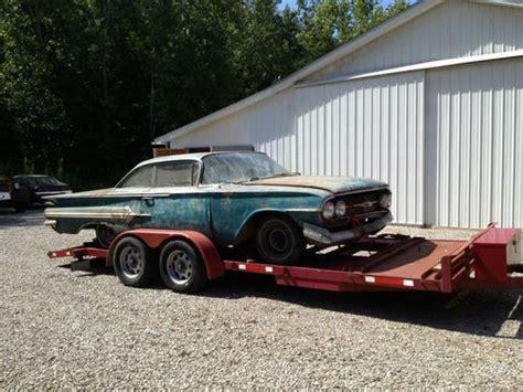 year one impala parts purchase used 1960 chevy impala parts car in avon ohio