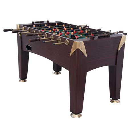 sport foosball table joola 56in sport squad monarch foosball table
