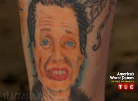 america s worst tattoos steve buscemi america s worst tattoos returns to