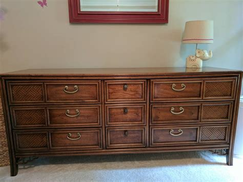 Marked Furniture by Thomasville Marked 1978 Bedroom Furniture