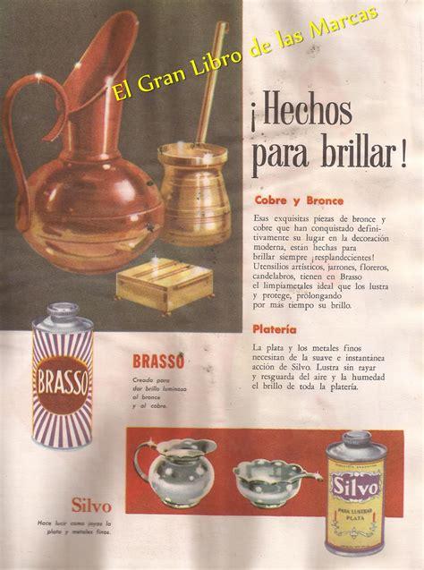 Brillante Brasso 1 el gran libro de las marcas el brasso brillante metal 1953