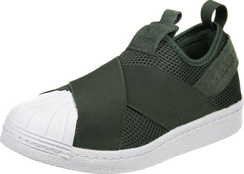 Sale Adidas Slip On adidas superstar slip on w shoes olive
