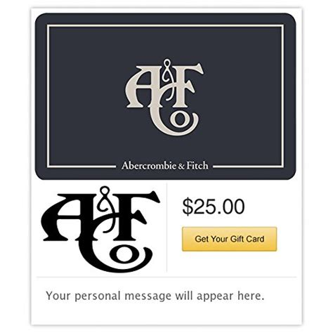 Abercrombie E Gift Card - abercrombie fitch e mail delivery online shopping rocks