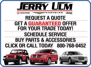 Jerry Ulm Chrysler Jeep Dodge Jerry Ulm Dodge Chrysler Jeep Ram Chrysler Dodge Jeep
