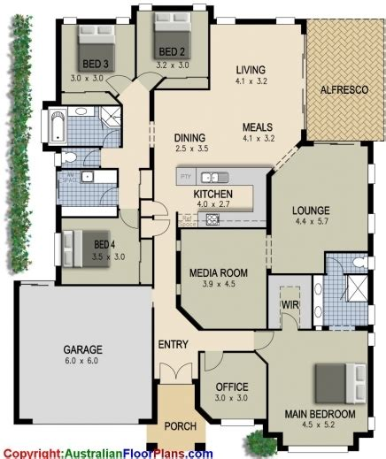 room design floor plan 2018 4 bedroom plus office house plans design ideas 2017 2018 modern 4 bedrooms floor